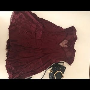 Urban Outfitters burgundy Dress XS